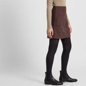 Moschino Wool Flared Skirt-NWT